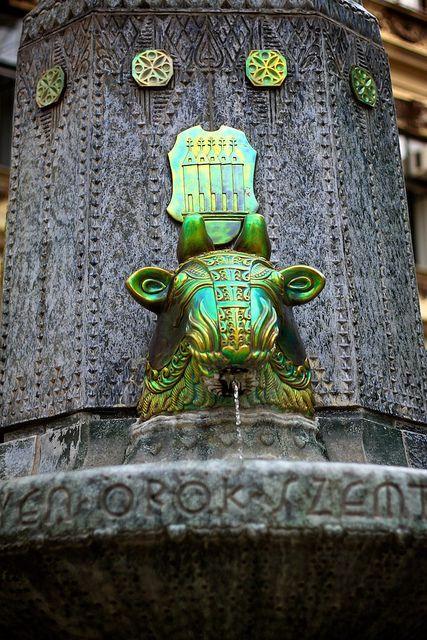 Zsolnay fountain, Pécs