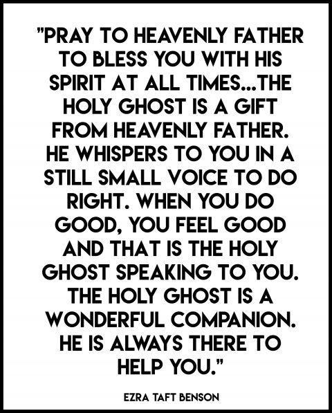 Holy Ghost quotes