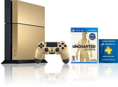 #Giveaway Limited Edition Gold PlayStation 4 Bundle « iDG   Best Gaming News Sites