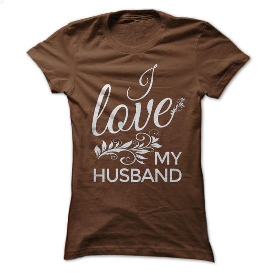 I LOVE MY HUSBAND - #striped tee #cropped hoodie. I WANT THIS => https://www.sunfrog.com/Funny/I-LOVE-MY-HUSBAND-3905496-Guys.html?68278