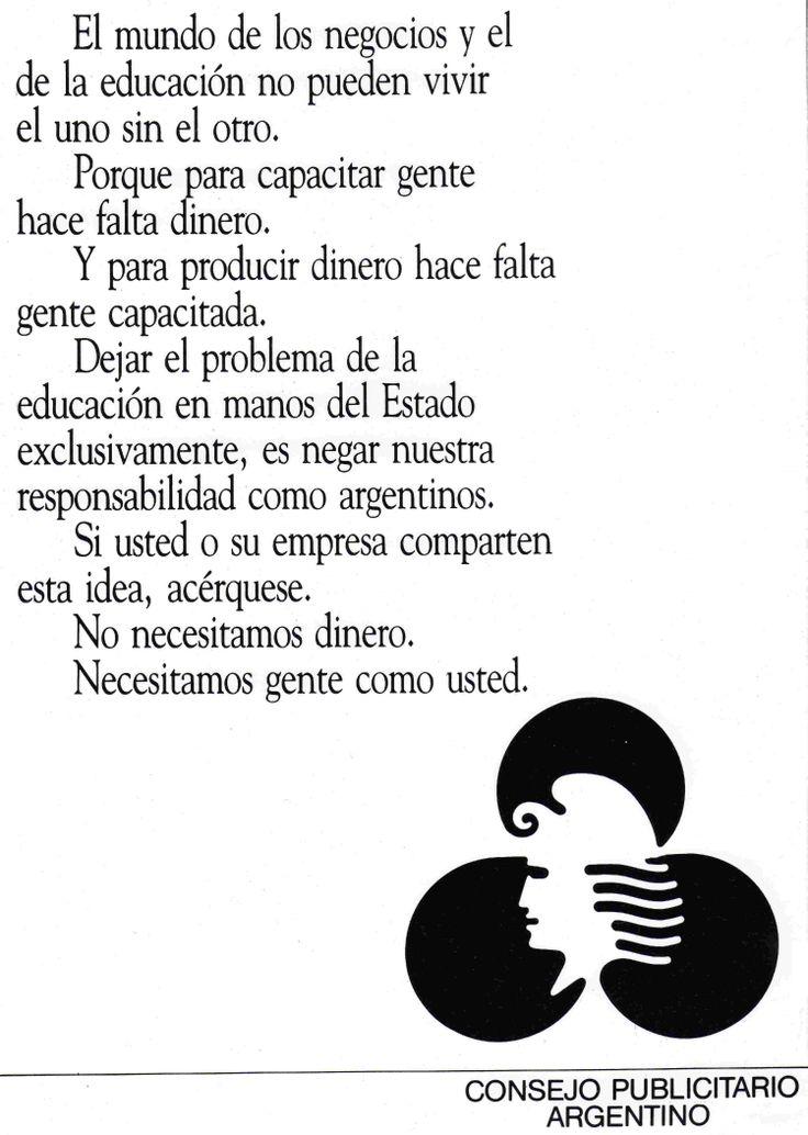 """""""Educación y Negocios""""-1985"""