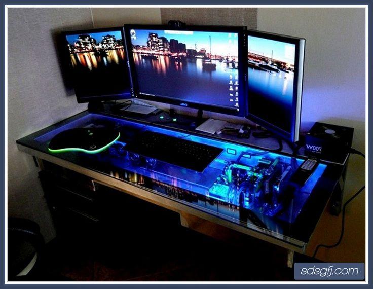 Best 25 Cool computer desks ideas on Pinterest  Pc built