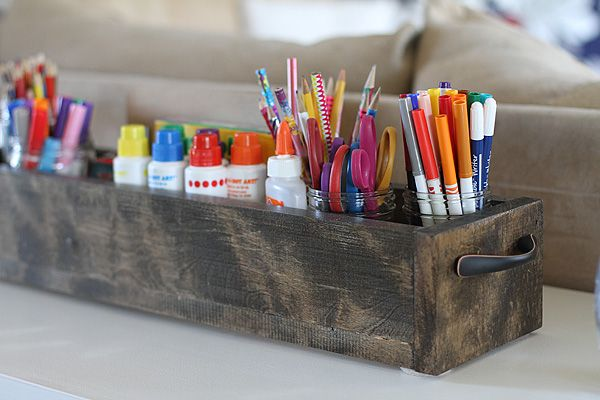 Art Caddy Diy
