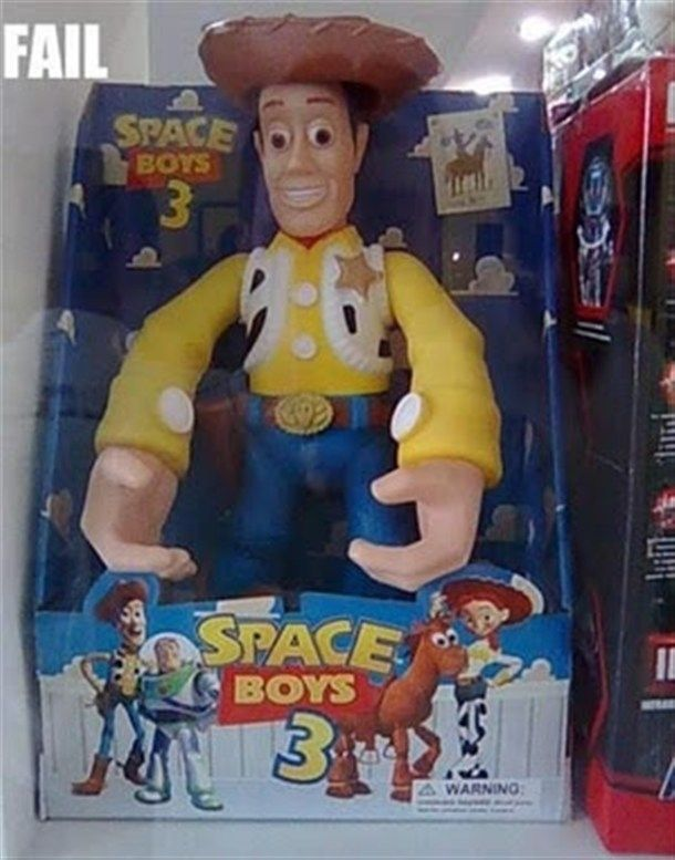 HIS HANDS!!! WTF? | 20 Hilarious And Ridiculous Knock-Off Toys