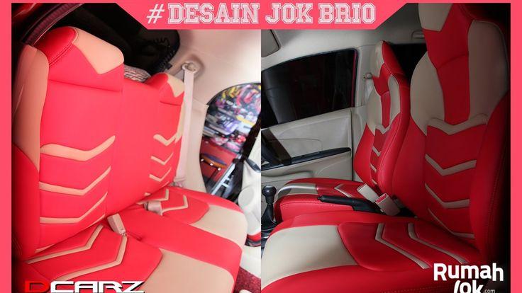 """Desain Jok Honda Brio Model Iron Man Extream Bahann Jok """"Adem"""""""