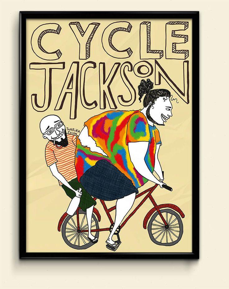 Cycle Jackson by Taarika John