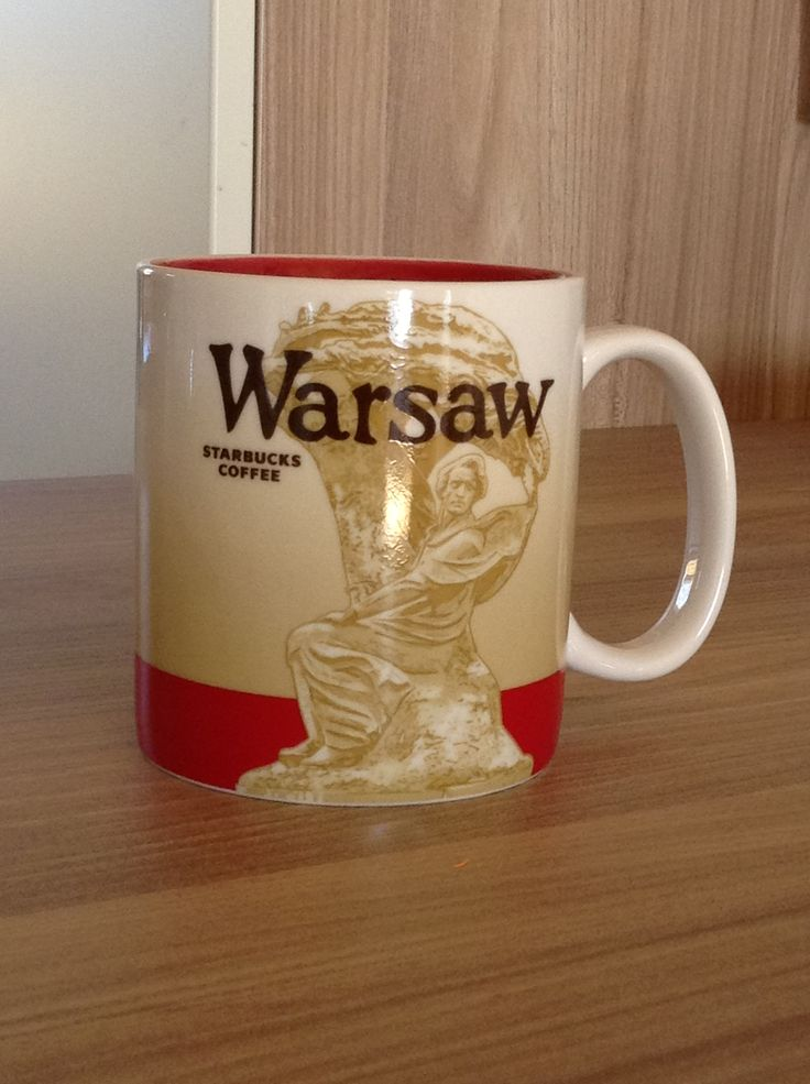 Warschau Starbucks City Mug