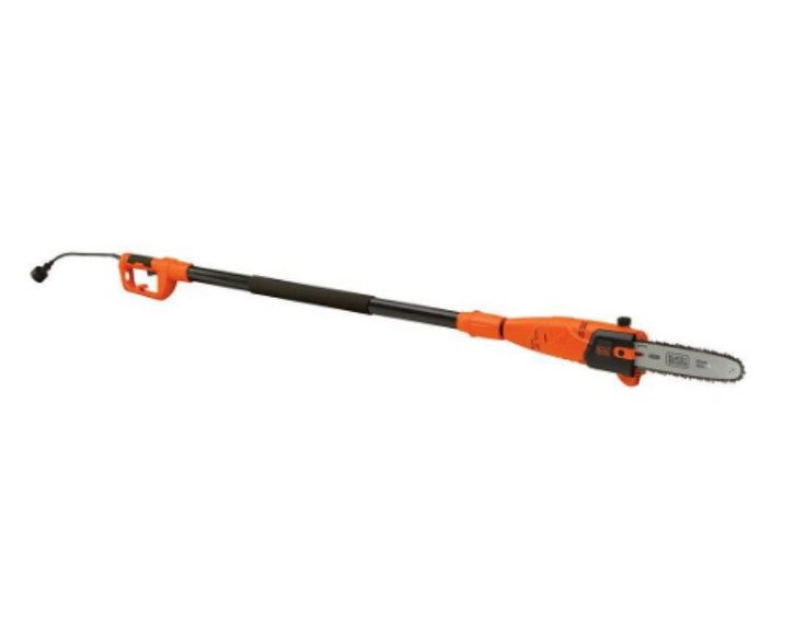 10 In. 6.5 Amp Electric Corded Pole Chain Saw Sturdy 8.5 Ft. Extended Pole