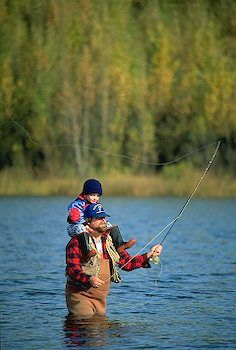 fly fishing... I expect I will have a pic like this before too long