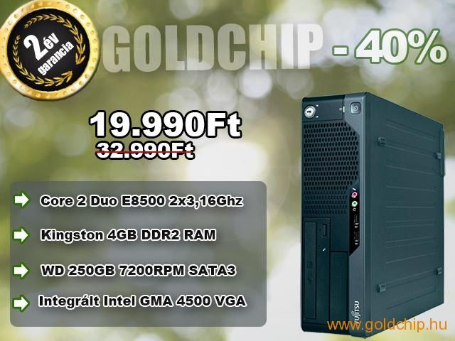 Fujitsu Core 2 Duo E8500 2x3,16Ghz CPU - 4GB DDR2 RAM PC  http://www.goldchip.hu/Fujitsu-Core-2-Duo-E8500-2x3-16Ghz-CPU-4GB-DDR2-RAM-PC-d30931.htm