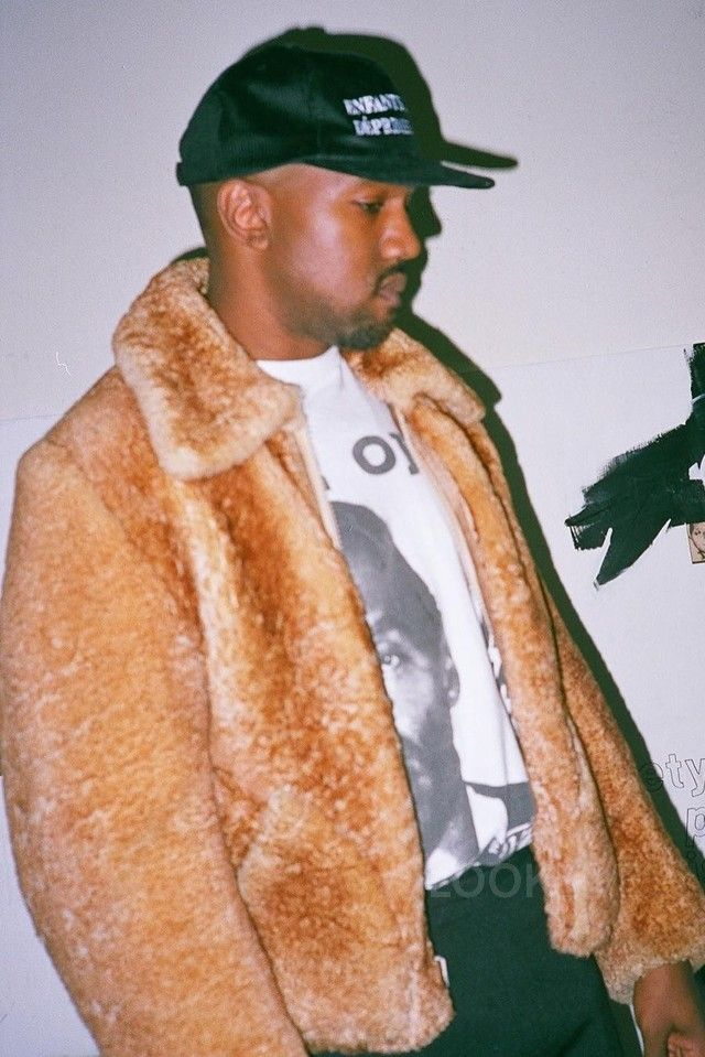 Kanye West wearing  Enfants Riches Déprimés Logo Hat
