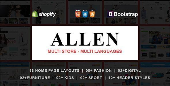 Allen - Responsive Shopify Theme