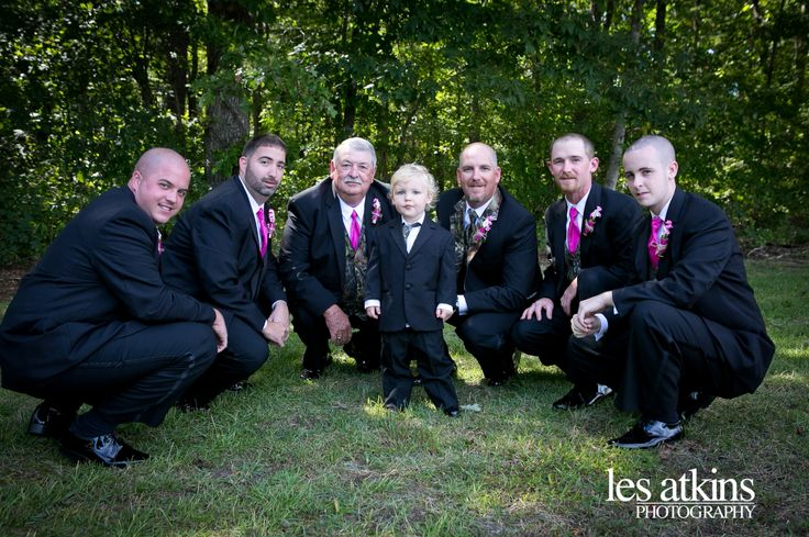 Roanoke Rapids, NC Wedding {April & Jeffrey} Country Wedding Camo Tux Hunting Theme Wedding