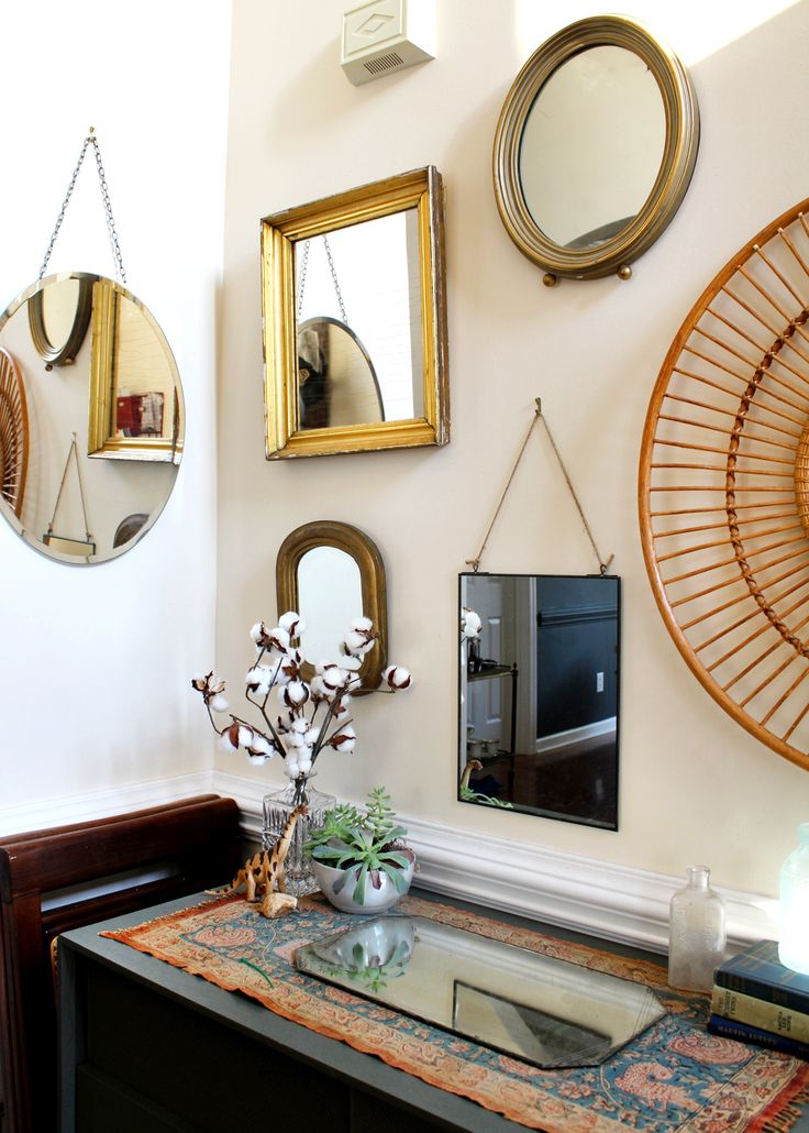 How to design a mirror gallery wall