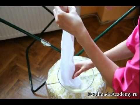 ✱Цветы из Ткани: Как Правильно Нажелатинить Ткань, Мастер-класс
