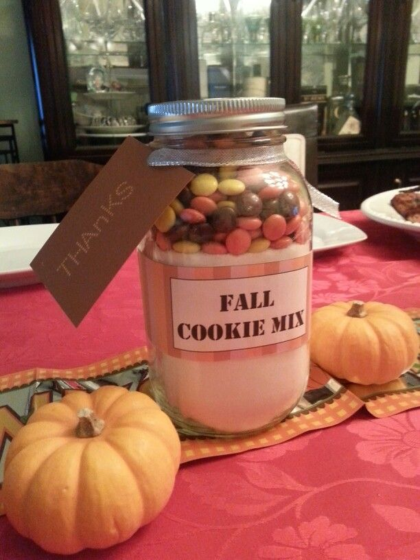 Fall Cookie Mix! A great Thanksgiving gift!