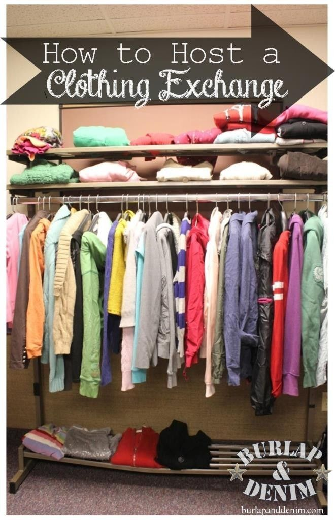 Tips for How to Host a Successful Clothing Exchange | Burlap & Denim