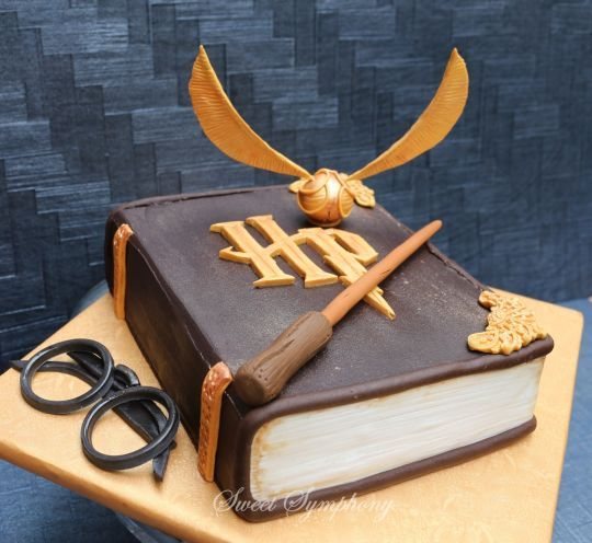 die besten 25 harry potter torte ideen auf pinterest. Black Bedroom Furniture Sets. Home Design Ideas