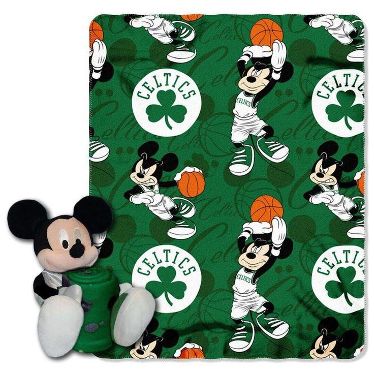 Boston Celtics Blanket Disney Hugger Special Order