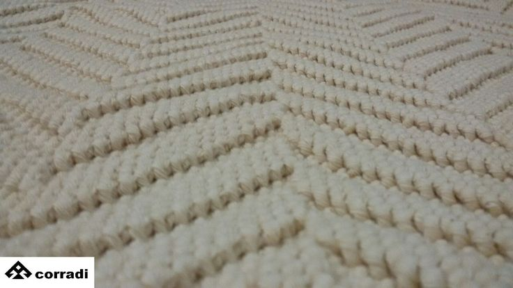 Carpet spiked By Mastro Raphael Pure cotton cm. 60 x 100 Color ecru Price € 80.00 #carpet #mastroraphael #cotton
