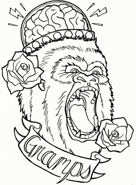 design for my kickstarter tattoo design coloring book project  donate today