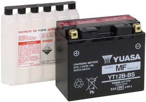 Yuasa Battery Chart