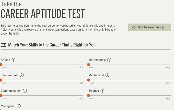 career aptitude test free