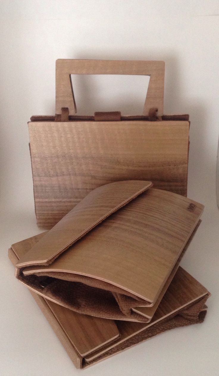 Walnut wood clutch  Handmade by Silkwood design