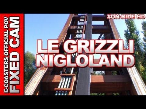 Vidéo embarquée du roller coaster Le Grizzli situé dans le parc d'attraction Nigloland en France. N'hésitez pas à venir découvrir sur notre channel Youtube, nos plus de 200 vidéos On-Ride : http://www.youtube.com/ecoasters !!