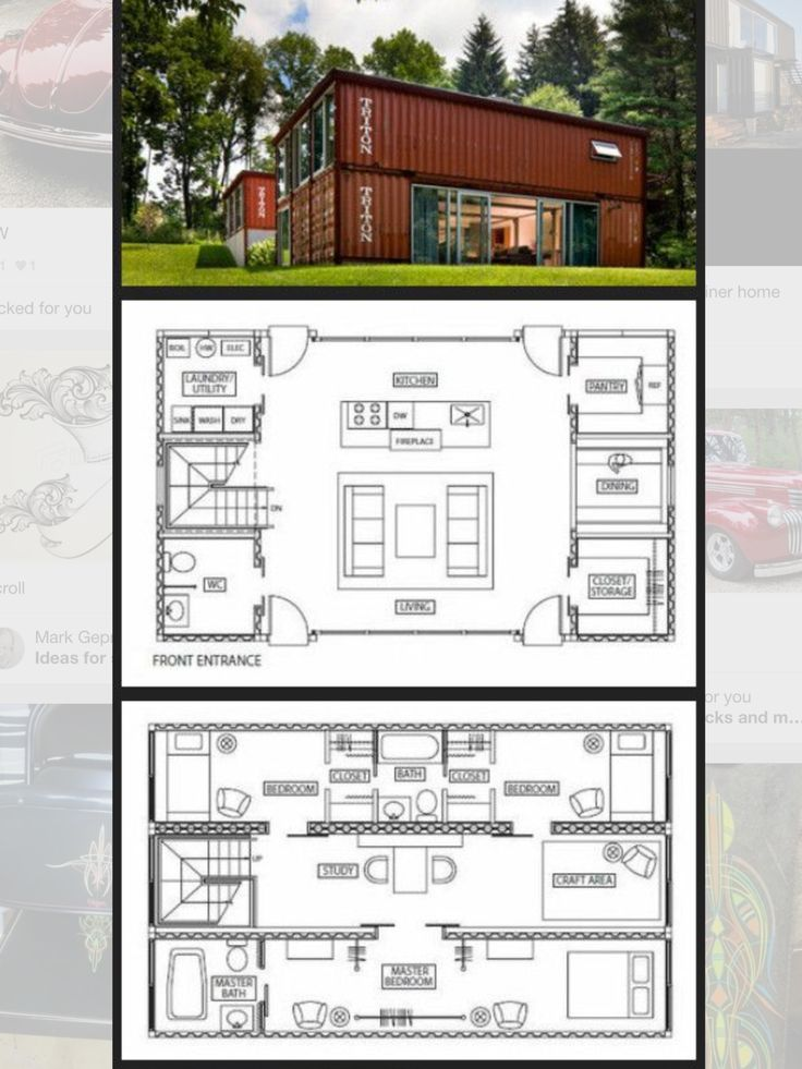 Container home container home pinterest home and for Container home building plans