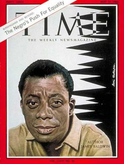 James Baldwin, Time Magazine, May 17, 1963
