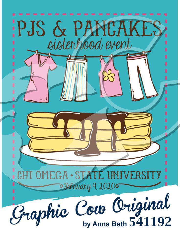 PJs and Pancakes sisterhood event #food #mixer #grafcow