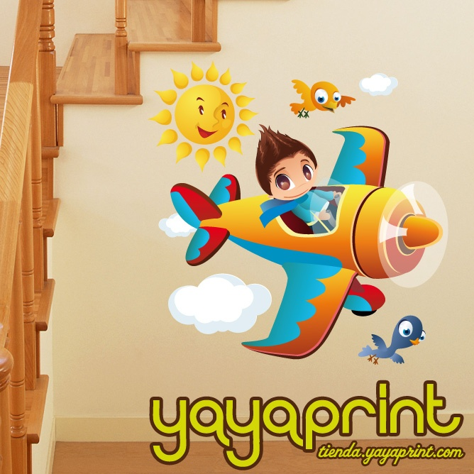 75 best vinilos ni o decorativos infantiles pared for Stickers pared ninos