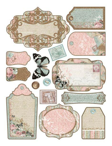 Etichette vintage