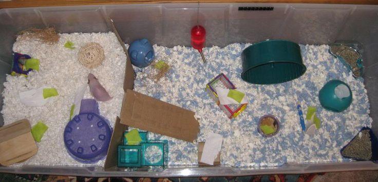 Large Hamster Bin Cage!