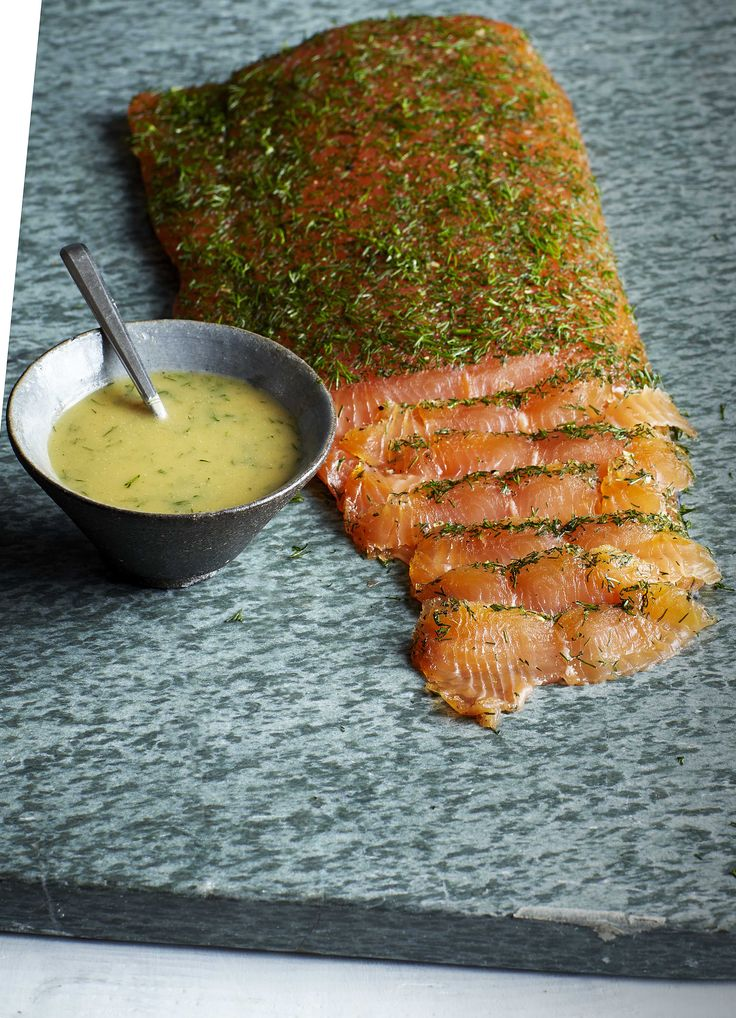 This melt-in-your-mouth salmon dish is cured in the traditional Scandinavian…
