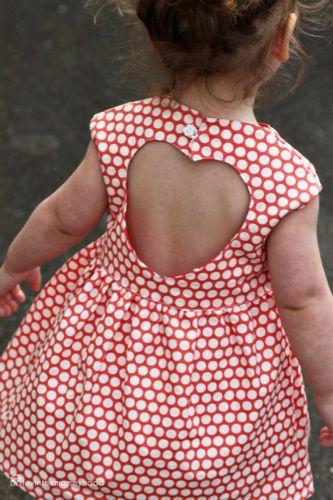 sweetheart dress 091a Patrón Vestido niña verano 2013