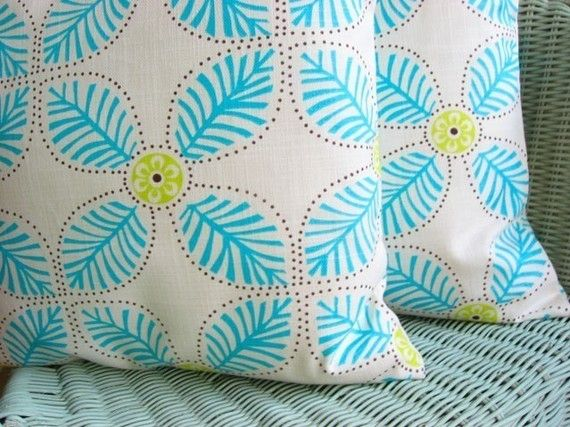 Fun homemade pillow covers. Have purchased two and am very pleased with them!