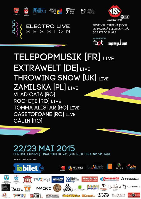 ElectroLive Session – Festival Internațional de Muzică Electronică și Arte Vizuale