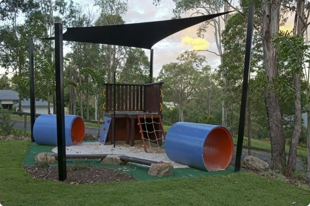 Outdoor play area by Nick Moore Design
