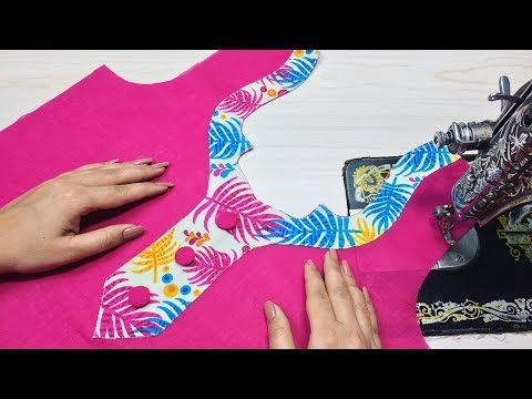 Double Layer A Line Kurti Cutting (Easy Way) - YouTube