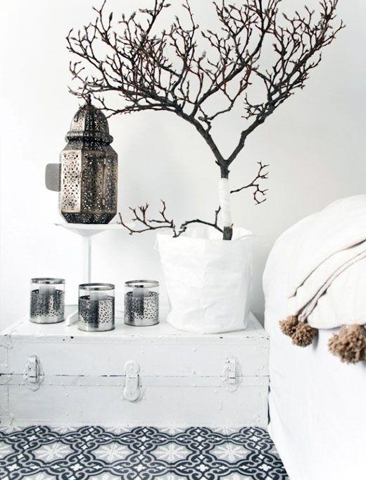 All white Moroccan Glam decor, part III. www.mycraftwork.com