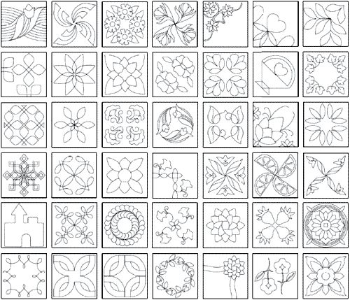 25 unique quilting stencils ideas on pinterest hand quilting the quiltmakers collection vol 1 printable quilting stencils pronofoot35fo Choice Image