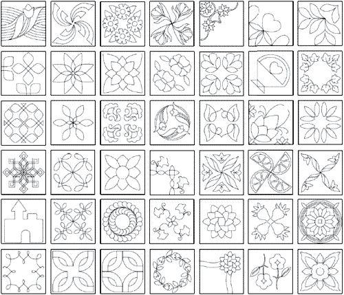 Quilt Stencils Hand Quilting : Best 25+ Quilting templates ideas on Pinterest Hand quilting patterns, Hand quilting designs ...