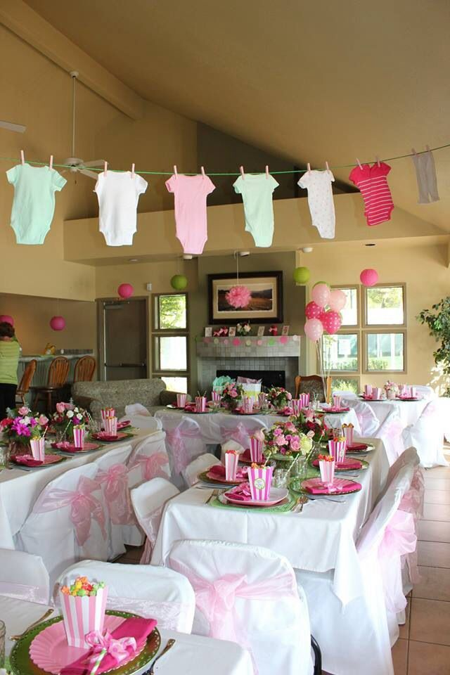 best  baby girl shower decorations ideas only on, Baby shower