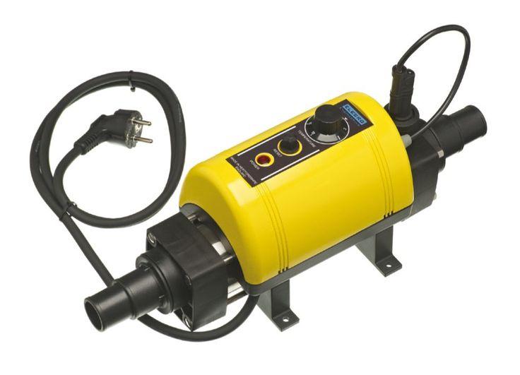 Réchauffeur pour piscine Elecro NANO 3 kW Plug and Play -- prêt à installer -- Pour bassin jusqu'à 25m3