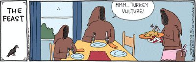 Thanksgiving - Mystery Fanfare: Cartoon of the Day: The Feast