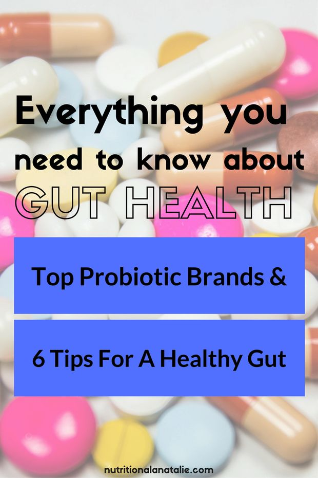 Learn about the microbiome, the best probiotic brands and tips for creating a healthy gut!