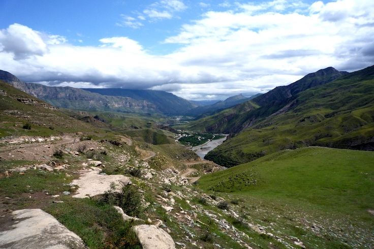 Погорным пейзажам Дагестана