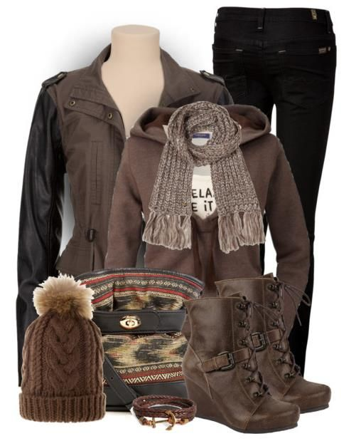 Hot Chocolate Winter Outfit 2014